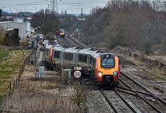 Ready For Service (whosoever2) Tags: uk united kingdom gb great britain england nikon d7100 train railway railroad march 2018 staffordshire bartonunderneedwood centralrivers vigin voyager 221112 221105 5d99