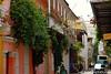 Alley in Cartagena De Las Indias (Alexander Den Ouden) Tags: cartagena colombia getsemani