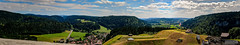 AAC_8280-Panorama_watermarked (Quentin CUVELIER) Tags: base chã¢teaudejoux continentsetpays d7000 doubs europe fr fra fortdejoux france franchecomte franã§ais french joux nikon nikonlens objectifnikon photo photographie photography quentincuvelier castle
