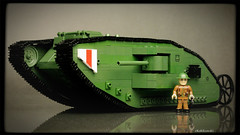 COBI Mark I British Tank (Kobikowski) Tags: cobi lego tank czołg british brytyjski mark great war ww1 wwi