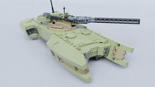 Pollaxe anti-tank vehicle