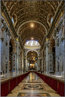Rom - Basilika St. Peter im Vatikan/Petersdom / St. Peter´s Basilica