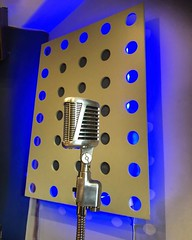 Periscope Up! (Pennan_Brae) Tags: microphones vintagemicrophone musicstudio recordingsessions recording recordingstudio vocals vocalist singer sing singing microphone