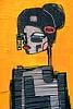 Urban Nation RIBBON (Marco Braun) Tags: stencil schablone pochoire urbanart streetart graffit berlin 2017 urbannation kopf head schwarz weiss black wjhite noire blanche yellow gelb jaune ribbon sun deutschlandgermanyallemangne