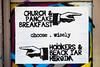Church & Pancake Breakfast, Choose Wisely (Thomas Hawk) Tags: aberdeen america usa unitedstates unitedstatesofamerica washington washingtonstate alley graffiti stencil us fav10 fav25