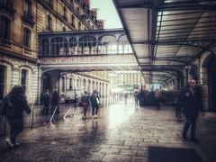 La Passerelle de l'Impératrice (LUMEN SCRIPT) Tags: tourism travel rainyday rain people streetphotography building hotel history paris architecture city urban france french postcard street colours