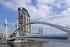 Millennium Bridge (jrw080578) Tags: bridge canal buildings salfordquays lowrybridge