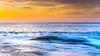 Sunrise Seascape with Clouds (Merrillie) Tags: daybreak landscape nature dawn waves waterscape water sunrise newsouthwales clouds earlymorning nsw sky coast ocean morning sea rocky coastal rocks outdoors seascape pearlbeach centralcoast australia seaside