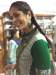 Simi showing off her new jewels (olive witch) Tags: 2017 abeerhoque bangladesh bd dec17 december dhaka fem indoors night