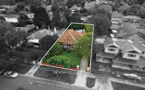 1 Ferncroft Av, Malvern East VIC 3145