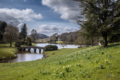 Stourhead Gardens in Early Spring (clive_metcalfe) Tags: nationaltrust stourhead garden