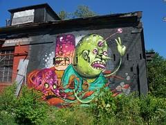 OH Columbus - Mural 87 (scottamus) Tags: columbus ohio franklincounty mural painting building art graffiti