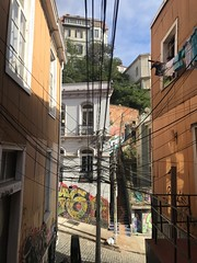 Power, Power Everywhere - Valparaiso (unclebobjim) Tags: cerroconcepcion valparaiso urban decoration arte graffiti tagging power everywhere