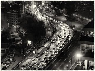 Istanbul Rush Hour Traffic