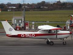 G-TALO Reims Cessna 152 Tatenhill Aviation Ltd (Aircaft @ Gloucestershire Airport By James) Tags: gloucestershire airport gtalo reims cessna 152 tatenhill aviation ltd egbj james lloyds