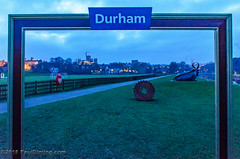 Photo Frame @ The Racecourse on the River Wear - Durham, England, UK (Paul Diming) Tags: pauldiming england winter greatbritain durhamengland city durham riverwear unitedkingdom durhamuk 2018uk britain theracecourse durhamgb landscape countydurham d7000 northeastengland uk dailyphoto gb