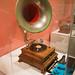 Antique bell grammophone