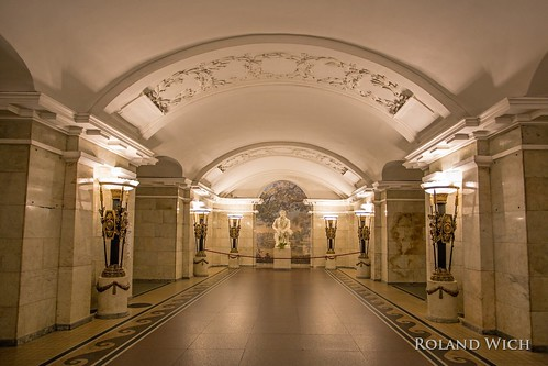 Saint Petersburg Metro Pushkinskaya