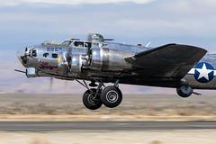 "B-17 ""Sentimental Journey"" (Trent Bell) Tags: lancaster foxairfield airport losangelescounty airshow 2018 california aircraft boeing b17 flyingfortress sentimentaljourney warbird"