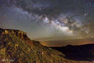 Caprock Canyon Milky Way_MG_1513