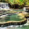 Kuang Si Falls (Fabia Tokuyama) Tags: waterfall falls laos luangprabang kuangsi kuangsiwaterfall kuangsifalls asia southasia