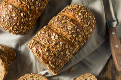 Homemade Whole Wheat Bread (brent.hofacker) Tags: agriculture background baguette bake baked bakery baking bread breakfast brown bun cereal crust diet dinner dough flour food fresh freshness gourmet grain healthy homemade loaf meal natural nutrition organic rye seed slice sliced snack tasty traditional wheat wheatbread whole wooden