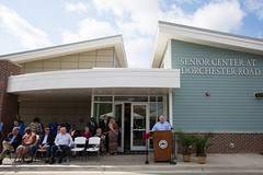 Dorchester Senior Center (North Charleston) Tags: seniorcenter senior center dorchester mayor mayorsummey north charleston south carolina lowcountry lieutenant governor sc lieutenantgoverner ribbon cutting citycouncil pickleball yoga fitness health pool