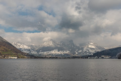 Uitzicht op Brunnen vanaf SBB schip op Vierwald stättersee (Hans Wiskerke) Tags: seelisberg uri zwitserland ch
