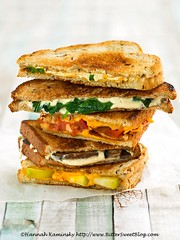 Leaning Tower of Grilled Cheese (Bitter-Sweet-) Tags: vegan food savory healthy sandwich dairyfree nondairy cheese grilled gooey warm hot cheesy rich decadent comforting comfortfood lunch meal easy quick classic vegetables tomato bread hearty