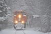 BNSF 7457 Westport NY (ERIE1960) Tags: railroad railfan trains locomotive canadianpacific newyorkrailroads norfolksouthern bnsf trainsinsnow ge westportny adirondacks
