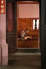 (Théo G-N) Tags: vietnam temple religion religious religieux paix peace pace paisible tranquille sérénité lumière concentration ho chi minh pieux travel voyage viaggio