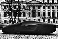 Lamborghini (poppelus) Tags: london bw lamborghini veil street uncool uncool2 uncool3 uncool4 uncool5 cool uncool6 cool2 uncool7forsomeone