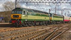 Green Class 47s At Carlisle (Uktransportvideos82) Tags: