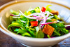 Spring Salad (moaan) Tags: kobe hyogo japan jp salad asidemane fresh freshfortheeye macro macrophotography yummy tasty delicious bokeh bokehphotography dof depthoffield canon canonphotography canoneos5dsr zeissmakroplanart2100ze 100mm f20 utata 2018 cafestudiod makroplanart2100