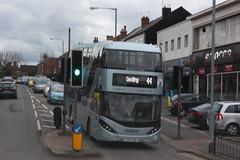 2018 03 27_6952 (djp3000) Tags: enviro400cbgcity eviro400 biogasbus bus doubledeckerbus trafficlights gedlingroad gedling nct nottinghamcitytransport 44 red44 nct44 nctredline44