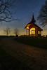 Kapelle unter den Sternen (stevepe81) Tags: nightpic stars sternenhimmel münsterland outdoor kapelle kapellezudenfünfwunden sigma30mmf14 longexposure nachtaufnahme landschaft langzeitbelichtung sterne sony lightroom laer sonyalpha6300 explorenature