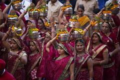 "Participants In The Gangaur Festival (El-Branden Brazil) Tags: jaipur asia gangaur ""gangaur festival"" festival india indian asian ""south asia"" rajasthan hindu hinduism"