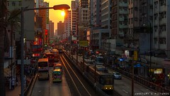 Sunset in Yuen Long (janetcmt's pictures) Tags: rx100 rx100m3 yuenlong hongkong
