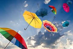 Windiger Herbsttag mit bunten Regenschirmen (cfdtfep) Tags: schirm schirme regenschirm regenschirme sonnenschirm sonnenschirme regen regenschutz wetter wetterschutz feuchtigkeit gewitter wind sturm windig stürmig sonnenschutz schauer spritzen wasser luft bunt farbenfroh himmel wolken fliegen segeln schweben hoch donner blitz frühling sommer regenguss meteorologie herbst nass jahreszeit naturkatastophe nässe hochdruckgebiet tiefdruckgebiet spaziergang tornado hurrikan windstos wetterumschlag herbststurm drausen aufgespannt germany
