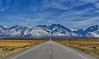 Benton Crossing Road (murraycdm) Tags: highsierra sierranevada clouds blue murraycdm ronanmurray sony a7ii 28mm bentoncrossingroad snow spring springbreak landscape easternsierra route395 us395 395 roadtrip