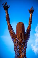 Or Maybe Just Happy (Thomas Hawk) Tags: america bayarea burningman california eastbay karencusolito oakland usa unitedstates unitedstatesofamerica westcoast sculpture fav10 fav25