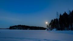 Huhtikuu / April 2018 (tommi.hietaniemi) Tags: instagramhiezu79 canon canon1dmarkiii canon1740mml moon moonlight järvimaisema lake landscapes landcape lato venevaja punainen kuusi vesi järvi sunset laituri