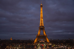 Tour eiffel - Paris (baridue) Tags: toureiffel paris love eiffel colori bluhour orablu sky france francia capitale amore