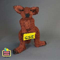 160-CSS PEEParoo (Carroll Arts Center) Tags: carroll county arts council 2018 peepshow a display marshmallow masterpieces featuring more than 150 sculptures dioramas graphic oversized characters mosaics created inspired by peepsâ®