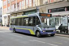9995 20180416 Go-Coachhire, Otford YJ57 XWR (CWG43) Tags: bus uk gocoachhire gocoach optare solo m950sl yj57xwr nottinghamcitytransport