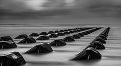 Blocks (A Crowe Photography) Tags: newbrighton breakers seascape sea seaside wirral northwest longexposure longexposurephotography haida10stopfilter canon6d