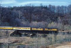 Daniels (jameshouse473) Tags: chessie system bo gp7 passenger train employee railway railroad bridge maryland patapsco river daniels