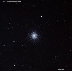 M13 - Hercules Globular Cluster (Ralph Smyth) Tags: m13 hercules astrometrydotnet:id=nova2473274 astrometrydotnet:status=solved