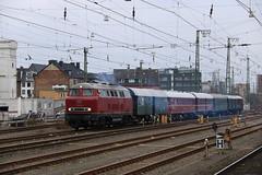 Rangeerbeweging Munster HBF (vos.nathan) Tags: mietlok v160 002 br 160 baureihe deutsche bundesbahn db landeseisenbahn lippe munster hbf hauptbahnhof