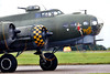Flying Fortress (Bernie Condon) Tags: scampton rafstation military aribase base station airshow 2017 flying display aircraft plane uk lincs royalairforce raf boeing b17 flyingfortress usaaf bomber ww2 vintage preserved warplane sallyb